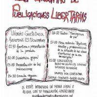 [País Basco] Leioa: 1º Encontro de Publicações Libertárias