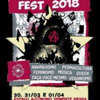 """[Peruíbe-SP] Chamada do """"No Gods No Masters Fest 2018"""""""