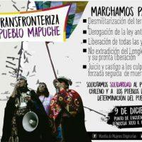 """[Argentina] """"Nação Mapuche, nação que não morre. 1° Marcha Transfronteiriça"""""""