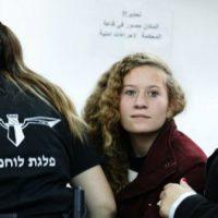 [Cisjordânia] Vídeo: Prenderam uma ativista palestina que esbofeteou dois soldados israelenses