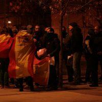 [Espanha] Uma vintena de ultras teve que sair escoltado do bairro de Torrero