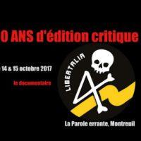 [França] Libertalia, 10 anos de edição crítica