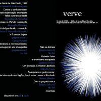 """Lançado novo número da """"Revista Verve"""" (eletrônica)"""