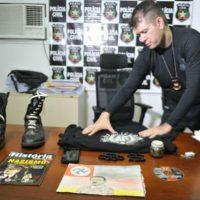 Polícia Civil de Blumenau apreende material nazista