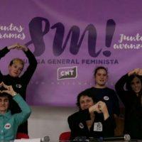 [Espanha] A CNT aprova por unanimidade a convocação de uma greve geral feminista para este 8 de Março