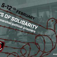 Solidariedade, anarquistas são alvos da repressão na Rússia
