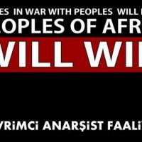 [Turquia] Comunicado da organização anarquista DAF em solidariedade com Afrin