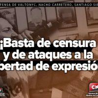 [Espanha] CNT contra a censura e os ataques à liberdade de expressão