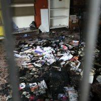 [Itália] Ataque incendiário ao Centro Social Autogestionado Magazzino47