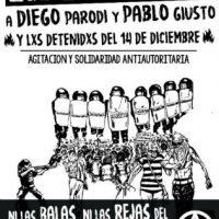 """[Argentina] """"Sequestrados por pensar diferente"""": anarquistas continuam detidos em Devoto desde o dia da repressão no Congresso"""