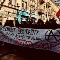 [Bulgária] Manifestação antifascista em Sófia reúne centenas de anarquistas
