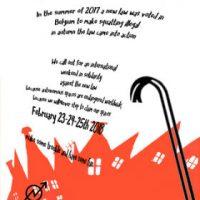 Chamada internacional de solidariedade e ação em defesa da okupação na Bélgica