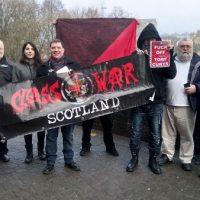 [Escócia] Membro da Class War Scotland julgado por exibir pôster em sua janela