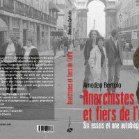 [França] Lançamento: Amadeo Bertolo. Anarquistas com orgulho. Seis ensaios e uma autobiografia