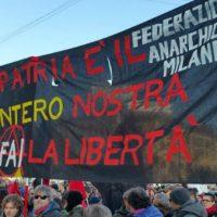 [Itália] Também os Milaneses nas ruas contra o fascismo