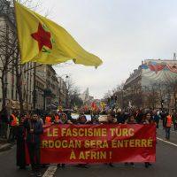 [França] A Alternative Libertaire mobiliza-se para a defesa de Afrin