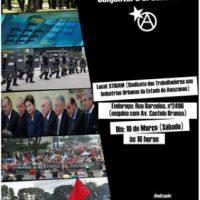 """[Manaus-AM] """"Lutar e Vencer fora das Urnas: uma análise Anarquista da Conjuntura Brasileira"""""""