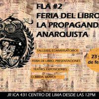 [Peru] Lima: II Feira do Livro e da Propaganda Anarquista
