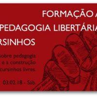 [São Paulo-SP] Formação Aberta: Pedagogia Libertária em Cursinhos