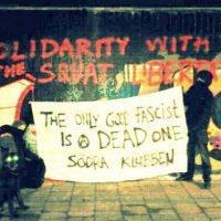 [Suécia] Solidariedade de Malmö com a okupa Libertatia