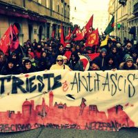 """[Itália] Trieste nas ruas contra a """"Forza Nuova"""""""