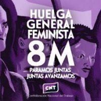 [Espanha] Greve 8M: Amanhã, 8 de março, vamos fazer história