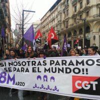 [Espanha] Um 8 de março histórico