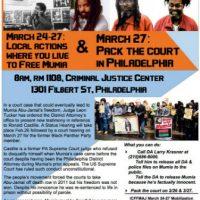 [EUA] Chamado Internacional: Ações e eventos em apoio a Mumia Abu-Jamal em 27 de março