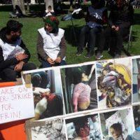 [Grécia] Atenas: Refugiados políticos curdos iniciam greve de fome por Afrin na Praça Syntagma