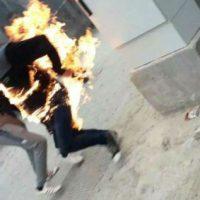 [Grécia] Jovem sírio ateia fogo ao próprio corpo em Lesbos por não receber asilo