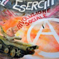 [Itália] Campanha antimilitarista