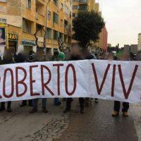 [Itália] Roma: Roberto vive na luta de todo antifascista!