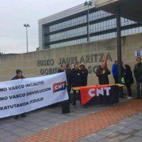 [País Basco] Exigem ao Governo Basco a devolução da rotativa do periódico 'CNT del Norte'