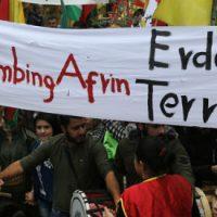 """[Portugal] Porto: Solidariedade com Afrin - """"Só as montanhas são nossas amigas"""""""