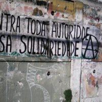 [Porto Alegre-RS] Cartaz em Solidariedade com xs que resistem a Operação Érebo