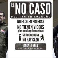 """[Espanha] Vídeo: Manifestação do """"Não Caso do 14N"""" em Logroño"""