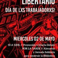 [Argentina] 1º de Maio Libertário em Córdoba
