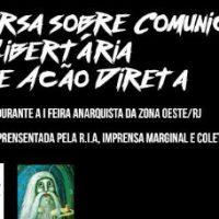 [Rio de Janeiro-RJ] Roda de conversa sobre Comunicação Anarquista/Libertária como forma de Ação Direta