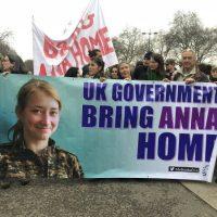 [Reino Unido] Parem com a ocupação de Afrin, tragam Anna para casa!