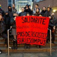 [Canadá] Solidariedade com Montpellier: campus sem fascistas