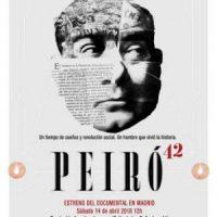 """[Espanha] 14 de Abril, """"Joan Peiró: República, Anarcossindicalismo e Revolução"""""""
