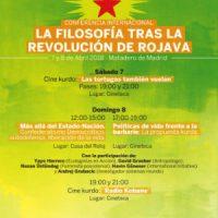 [Espanha] Conferência Internacional: A filosofia após a revolução de Rojava – Madrid, 7 e 8 abril de 2018