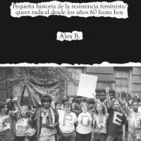 """[Espanha] Lançamento: """"Estratégias de resistência e ataque. Pequena história da resistência feminista/queer radical desde os anos 60 até hoje"""", de Alex B."""