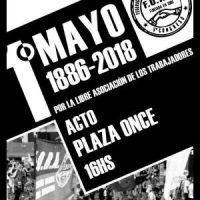 [Argentina] 1° de Maio, Dia de Protesto e de Luta