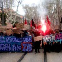 [França] Caso Pétel: Estudantes de Montpellier se manifestam para denunciar a cumplicidade da polícia e do Estado