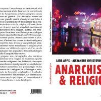 [França] Lançamento: Anarquismo e religião, de Lara Apps - Alexandre Christianopoulos