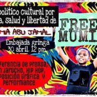[México] À embaixada pela vida, saúde e liberdade de Mumia!
