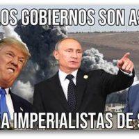 [Peru] Pronunciamento anarquista sobre os bombardeios das potências mundiais sobre a Síria