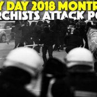 [Canadá] Vídeo: Anarquistas entram em conflito com a polícia no Primeiro de Maio, em Montreal