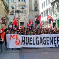 [Espanha] Crônica da manifestação do 1º de Maio da CNT de Zaragoza: a CNT chama à Greve Geral